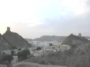 View over Muttrah