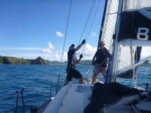 End of the ARC- approaching Rodney Bay St Lucia