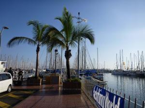 our pontoon in Las Palmas
