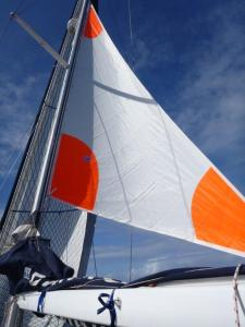 flying the trysail