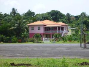 Typical Grenada house
