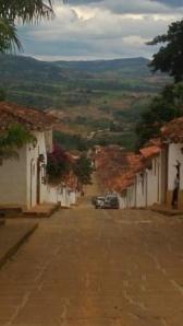 Barichara view like Tuscany