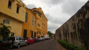 city walls of Cartegena