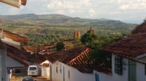 countryside around Barichara