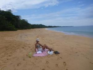 deserted beach