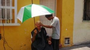 haircut in Cartegena