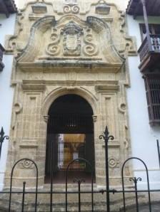 Museum entrance Cartegena style