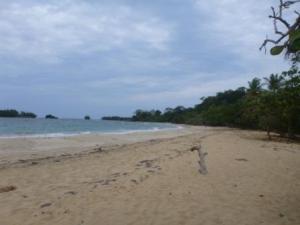 wizard beach Bastementos island