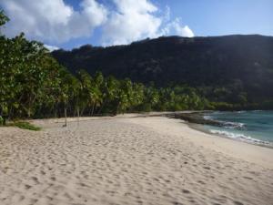 Hanatekuua beach- empty!