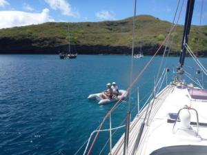 M&G going ashore