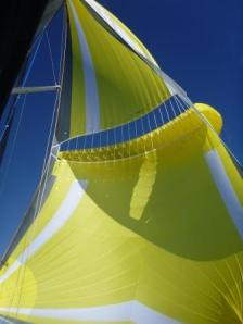 the wing of the parasailor