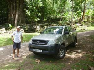 hired Hilux