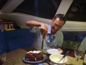 malcolm's birthday cake