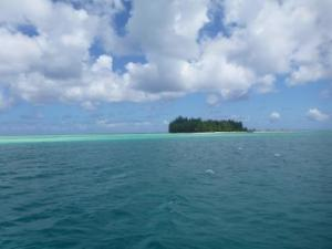coral island (motu) Bora