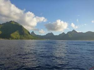 mountains of Moorea