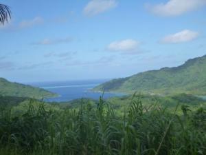 haamene bay showing reef outside.