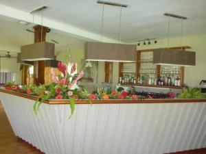 Flowers in Raiatea Lodge