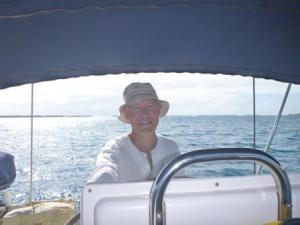 at last sailing again!
