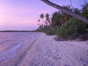 Hirifi beach at sunset