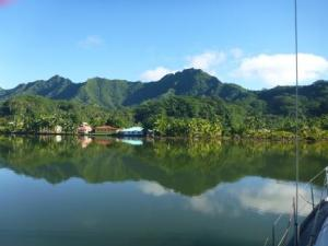 tranquil Haamene bay