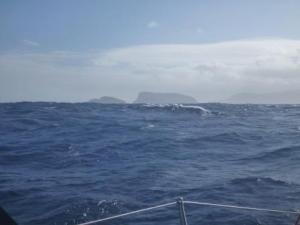 Approaching Samoa
