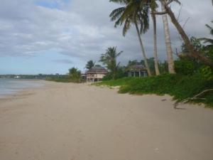 """beach outside Stevensons """"hotel"""""""