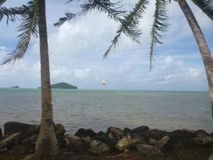 kite surfing wallis